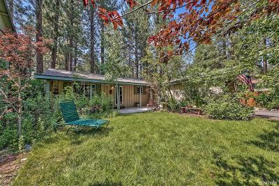South Lake Tahoe CA Single Family Home For Sale: $389,000
