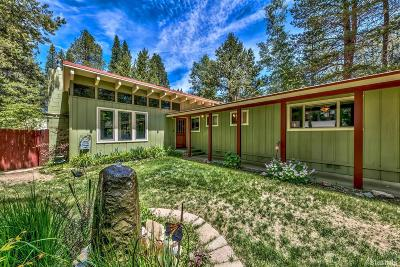 South Lake Tahoe Single Family Home For Sale: 841 Michael Drive
