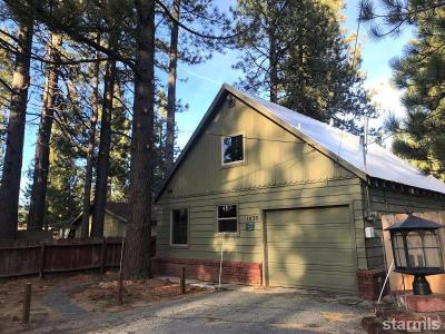 South Lake Tahoe Single Family Home For Sale: 1033 River Dr