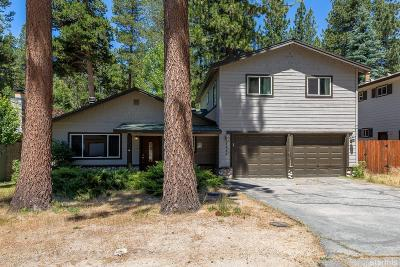 South Lake Tahoe Single Family Home For Sale: 3433 Warr Road