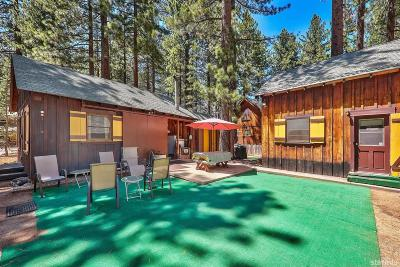South Lake Tahoe Single Family Home For Sale: 3317 Fir Avenue
