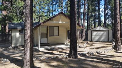 South Lake Tahoe Single Family Home For Sale: 1247 Heather Lake Road