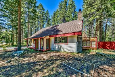 South Lake Tahoe Single Family Home For Sale: 643 Cayuga Circle