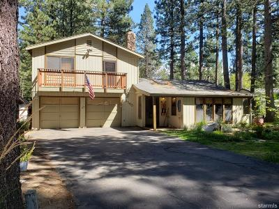 South Lake Tahoe CA Single Family Home For Sale: $499,000