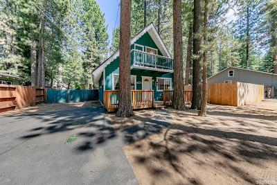 South Lake Tahoe Single Family Home For Sale: 1219 Margaret Avenue