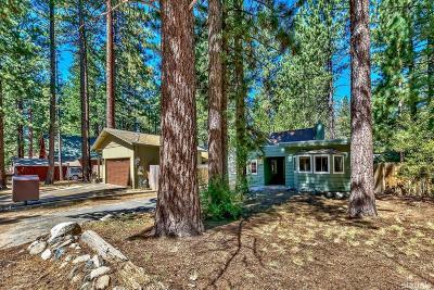 South Lake Tahoe Single Family Home For Sale: 2533 Kubel Avenue