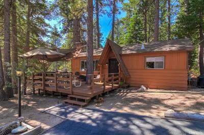 South Lake Tahoe Single Family Home For Sale: 746 Glorene Avenue