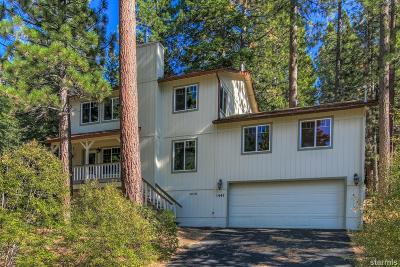 South Lake Tahoe Single Family Home For Sale: 1447 Pebble Beach Drive