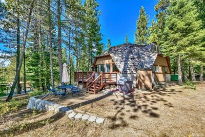 South Lake Tahoe Single Family Home For Sale: 1479 Pebble Beach Drive