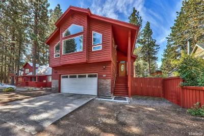 South Lake Tahoe Single Family Home For Sale: 1030 Chonokis Road