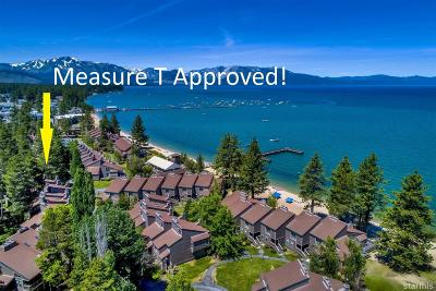South Lake Tahoe Condo/Townhouse For Sale: 3535 Lake Tahoe Boulevard #468