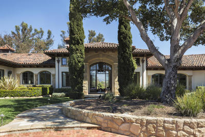 Santa Barbara Single Family Home For Sale: 4280 Via Esperanza