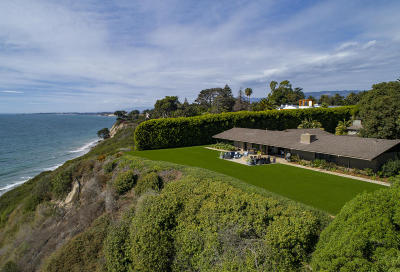 Santa Barbara Single Family Home For Sale: 4295 Marina Dr
