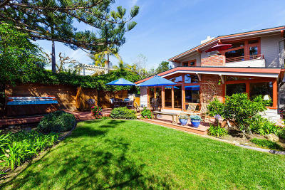 Santa Barbara County Single Family Home For Sale: 2291 Whitney Ave