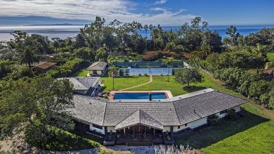 Santa Barbara County Single Family Home For Sale: 4141 Mariposa Dr
