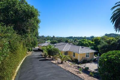 Santa Barbara County Single Family Home For Sale: 500 Via Hierba