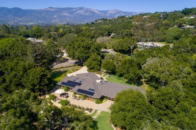 Santa Barbara County Single Family Home For Sale: 999 Camino Medio