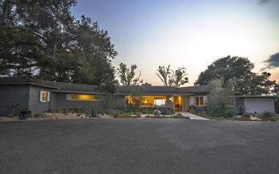 Santa Barbara County Single Family Home For Sale: 4545 Via Vistosa
