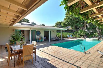 Santa Barbara County Single Family Home For Sale: 160 Olive Mill Ln