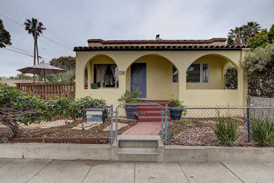 Santa Barbara County Single Family Home For Sale: 734 W Pedregosa St