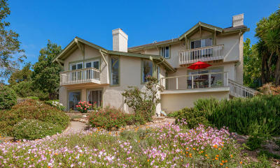 Santa Barbara County Single Family Home For Sale: 2901 Foothill Rd