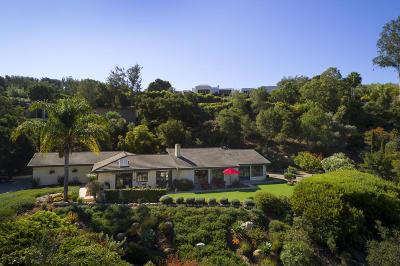 Santa Barbara County Single Family Home For Sale: 2777 Macadamia Ln