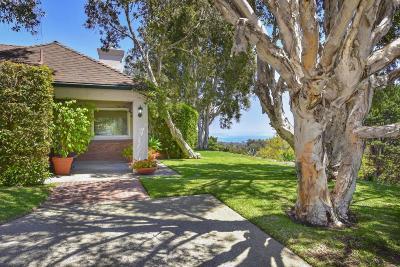 Santa Barbara County Single Family Home For Sale: 860 Skyview Dr