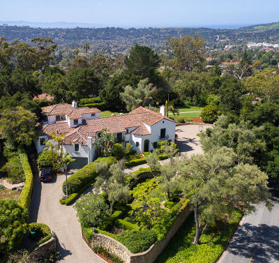 Santa Barbara County Single Family Home For Sale: 2151 Mission Ridge Rd