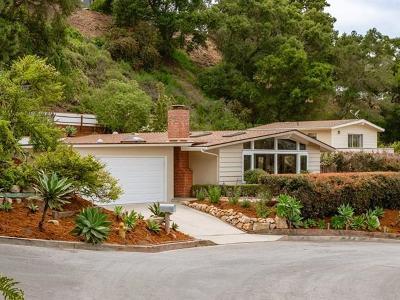 Santa Barbara County Single Family Home For Sale: 1259 Calle Cerrito