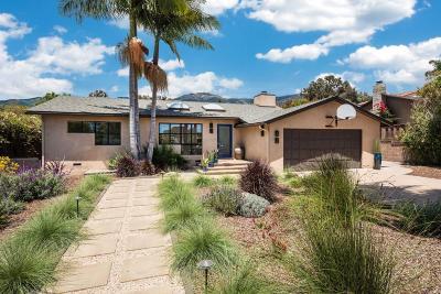Santa Barbara County Single Family Home For Sale: 3834 Pemm Pl