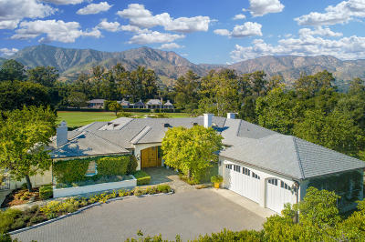 Santa Barbara County Single Family Home For Sale: 540 McLean Ln