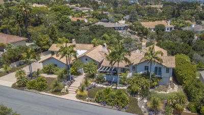 Santa Barbara County Single Family Home For Sale: 972 Camino Del Rio
