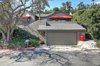 Santa Barbara Single Family Home For Sale: 445 Scenic Dr