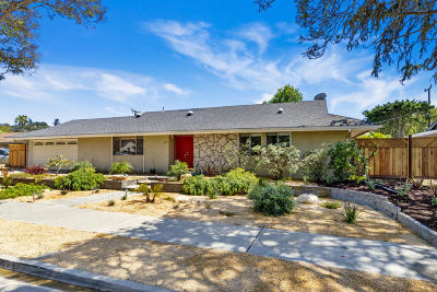 Santa Barbara County Single Family Home For Sale: 4682 Puente Plz