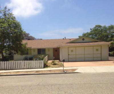 Santa Barbara County Single Family Home For Sale: 7145 Tuolumne Dr