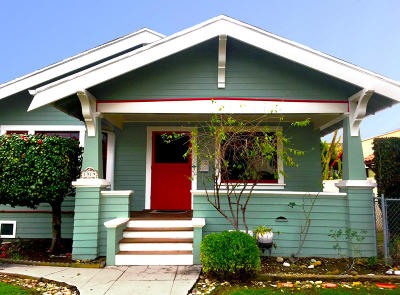 Santa Barbara County Single Family Home For Sale: 1919 Bath St