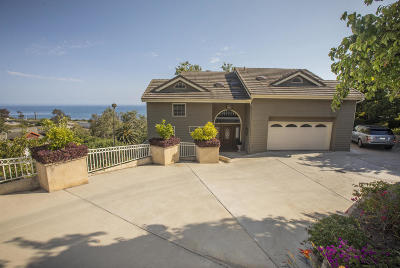 Santa Barbara County Single Family Home For Sale: 2567 Banner Ave