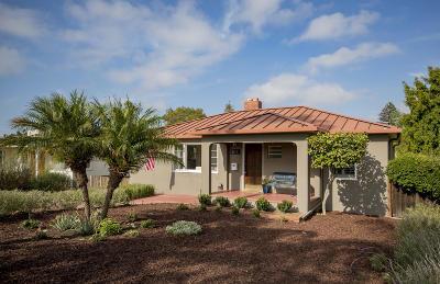 Santa Barbara County Single Family Home For Sale: 2625 Samarkand Dr