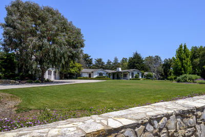 Santa Barbara County Single Family Home For Sale: 4632 Via Roblada