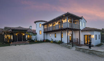 Santa Barbara Single Family Home For Sale: 3349 Cliff Dr