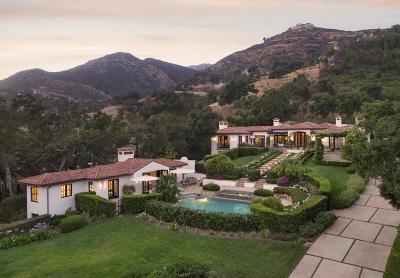 Santa Barbara Single Family Home For Sale: 700 E Mountain Dr