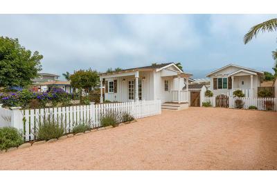 Carpinteria CA Single Family Home For Sale: $1,795,000