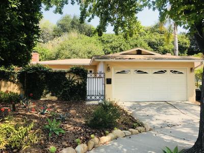 Santa Barbara County Single Family Home For Sale: 4694 Tajo Dr