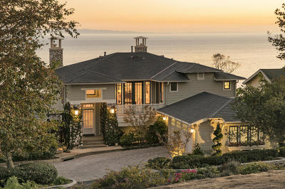 Summerland CA Single Family Home For Sale: $3,095,000