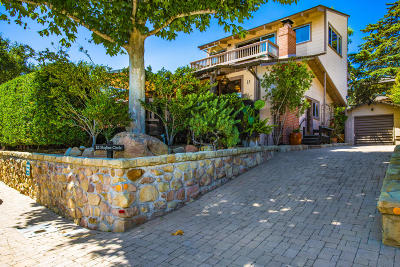 Santa Barbara County Single Family Home For Sale: 15 Skyline Cir