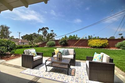 Santa Barbara County Single Family Home For Sale: 707 Juanita Ave