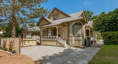Santa Barbara County Single Family Home For Sale: 1516 De La Vina St