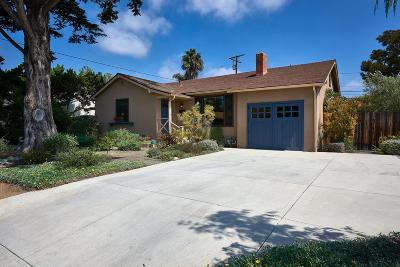Santa Barbara County Single Family Home For Sale: 48 Calle Capistrano
