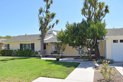Santa Barbara County Single Family Home For Sale: 2931 Verde Vista Dr