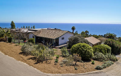 Summerland CA Single Family Home For Sale: $1,595,000